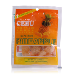 Photo of Cebu Dried Pineapple 100g