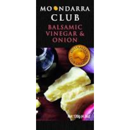 Photo of Moondarra Cheese Cheddar Balsamic & Onion 150g