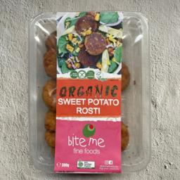 Photo of Bite Me Organic Sweet Potato Rosti 300g
