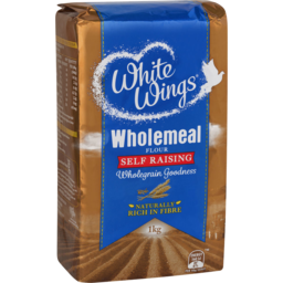 Photo of White Wings Wholemeal Flour Self Raising 1kg