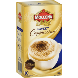 Photo of Moccona Sweet Cappuccino 10 Pack