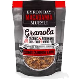 Photo of Byron Bay Macadamia Muesli - Coconut & Cranberry