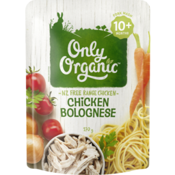 Photo of Only Organic Chicken Bolognese 10+ Months 170g 170g