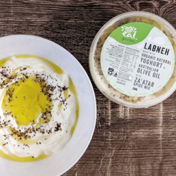 Photo of Eat Gourmet Labneh With Olive Oil and Za'atar 250g