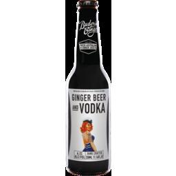 Photo of Buderim Ginger Beer & Vodka Bottles