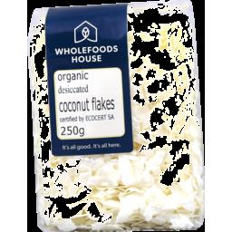 Photo of Wholefoods House Coconut Organic Flakes 250g