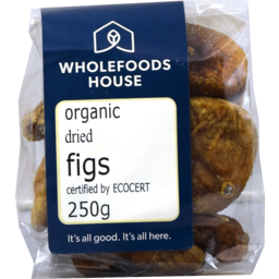Photo of Wholefoods House Dried Figs Organic 250g