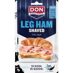 Photo of Don Deli Style Leg Ham Shaved 250g