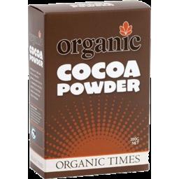 Photo of Organic Times Cocoa Powder