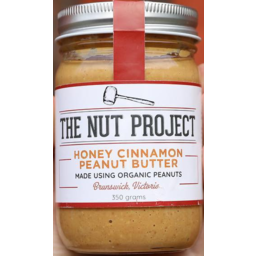 Photo of The Nut Project Peanut Butter - Honey & Cinnamon