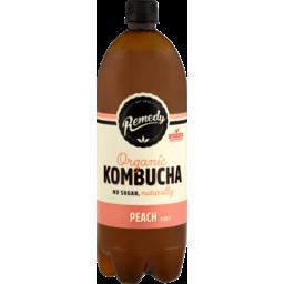 Photo of Remedy Kombucha Peach 1.25lt