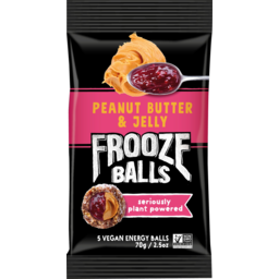 Photo of Frooze Balls Peanut Butter & Jelly 5 Pack 70g