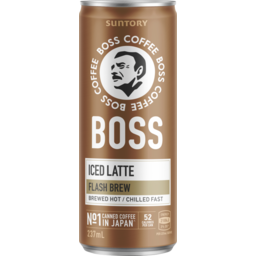 Photo of Boss Coffee Rtd Latte 237ml Can