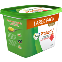 Photo of Flora Proactiv Margarine Spread Buttery 750g
