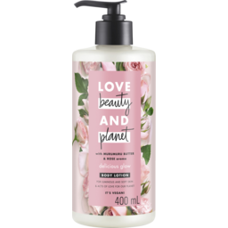 Photo of Golden Gaytime Love Beauty And Planet Body Lotion Murmuru Butter & Rose Oil 400 Ml