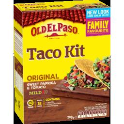 Photo of Old El Paso Taco Kit 295g 12s 12