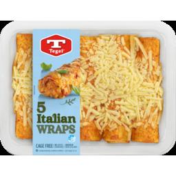 Photo of Tegel Wraps Italian 5 Pack