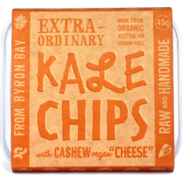 Photo of Extraordinary Foods Kale Chips Cashew Cheese 45gm