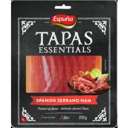 Photo of Espuna Tapas Sliced Serrano Ham 120g