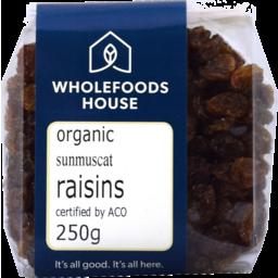 Photo of Wholefoods House Raisins Sunmuscat 250g