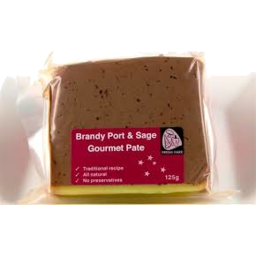 Photo of Brandy Port & Sage Paté 125gm