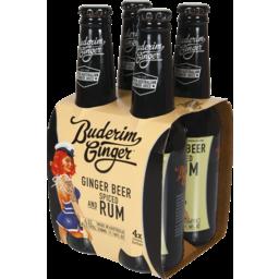 Photo of Buderim Ginger Beer & Spiced Rum Bottles