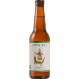 Photo of Paynter's Cider The Alchemist Cider Medium-Dry 330ml