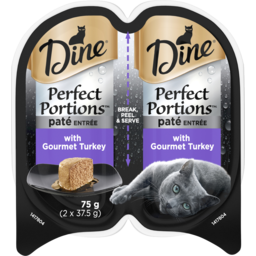Photo of Dine Perfect Portions Pate Entree With Gourmet Turkey 2x37.5g