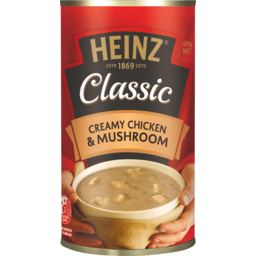Photo of Heinz Classic Creamy Chicken & Mushroom Soup 535g