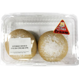 Photo of Fresh Cream Sponge Kisses 2 Pack 140g
