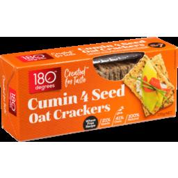 Photo of 180 Degrees Oat Cracker 4 Seed Cumin 135g