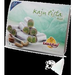 Photo of Saurbhi Sweet Kaju Pista Roll 400g
