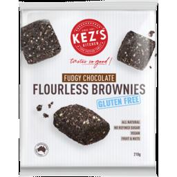 Photo of Kez's Kitchen Gluten Free Fudgy Chocolate Flourless Brownies