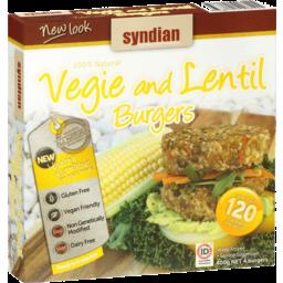 Photo of Syndian Vegie & Lentil Burgers