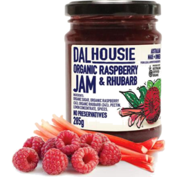 Photo of Dalhousie Organic Jam Raspberry And Rhubarb 285gm