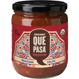 Photo of Que Pasa - Salsa - Medium - 454g