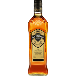 Photo of The Black Douglas Blended Scotch Whisky 700ml Bottle