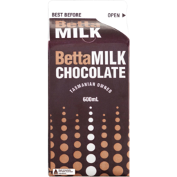 Photo of Betta Milk Chocolate Carton 600ml