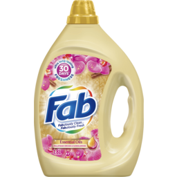 Photo of Fab Essential Oils Malaysian Orchid And Sandalwood, Liquid Laundry Washing Detergent, 1.8 Litres