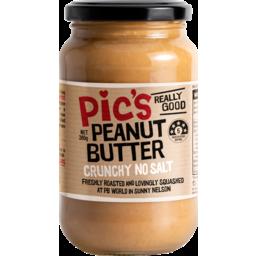 Photo of Pic's Peanut Butter Crunchy No Salt 380g