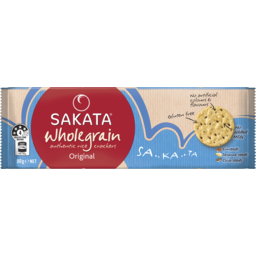 Photo of Sakata Wholegrain Original Rice Crackers 90g