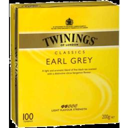 Photo of Twinings Specialty Teas Tea Bags Earl Grey 100pk