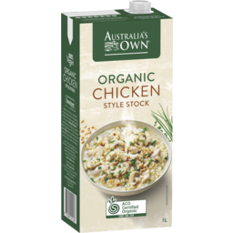 Photo of Australia's Own Organic Chicken Style Stock 1l