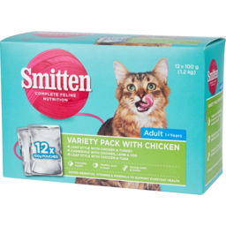 Photo of Smitten Cat Food Poultry Variety 12 Pack