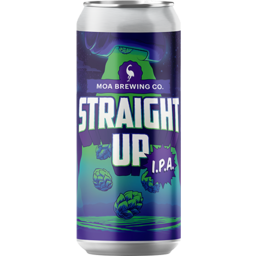 Photo of Moa Straight Up IPA 440ml