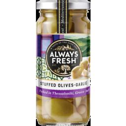 Photo of Always Fresh Olives Stuffed Garlic 230gm 230