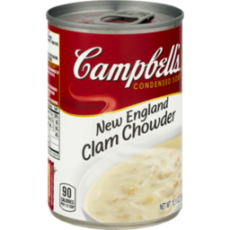 Photo of Campbell's New England Clam Chowder Condensed Soup