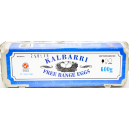 Photo of Kalbarri F/Range Eggs 600g Doz