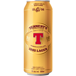 Photo of Tennent's Original Export Lager 500ml Can