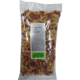 Photo of The Market Grocer Mixed Nuts Salted 500gm